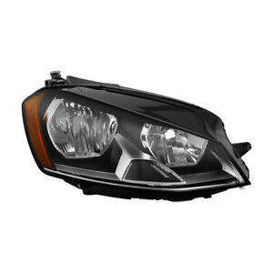 Fit 15-17 Volkswagen Golf/Gti/eGolf Headlight Replacement Right / Passenger Side