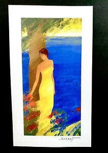 "EN MEDITERRANEE ~EMILE BELLET~2013SERIOLITHOGRAPH W COA~10 1/4""x5""NEW UNFRAMED"