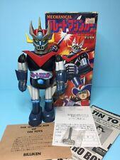 "Japan Billiken Tin toys "" GREAT MAZINGER "" popy bullmark masudaya takatoku"