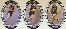 2016 LIMITED TEAMCOACH CARLTON CRIPPS GIBBS & MURPHY AFL PRIZE CARD SET