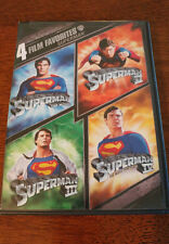 4 Film Favorite - Superman (DVD, 2008, 2-Disc Set) VERY GOOD, MAIL IT TOMORROW!