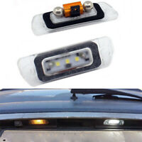 2 X White LED License Plate Lamp Light For Mercedes-Benz AMG ML GL R-class W164