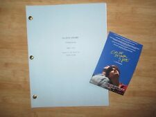 Call Me By Your Name MOVIE SCRIPT SCREENPLAY Postcard 90th Academy Awards Oscars