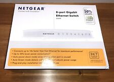 NetGear  (GS608) 8-Ports Ethernet Switch