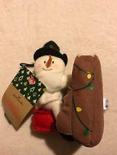 Hallmark PIANO SNOWMAN Plush Ornament NWT