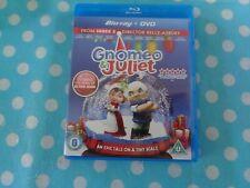 Gnomeo and Juliet Blu-ray (2011) Kelly Asbury cert U FREE Shipping, uk