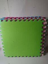 Kids 8 pc Large Colourful Foam Soft Jigsaw Puzzle Play Mat ELC