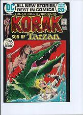 KORAK, SON OF TARZAN 47 - VF- 7.5 - 2ND DC ISSUE - JOE KUBERT ARTWORK (1975)
