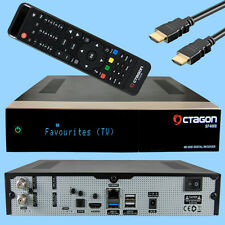 Octagon SF4008 Triple 4K 2x DVB-S2X E2 Linux UHD HDTV SAT Receiver IPTV H.265