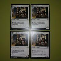 Town Gossipmonger x4 Shadows over Innistrad 4x Playset Magic the Gathering MTG