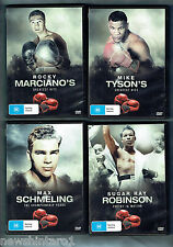 #JJ.  TWELVE  HEAVYWEIGHT  BOXING  HISTORY  DVDs