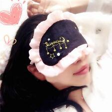 Embroidery Eye Cover Shade Cover Sleep Eyepatch Blindfold Shield Sleeping Aid GR