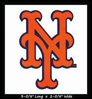 NEW YORK METS BASEBALL MLB INDOOR DECAL STICKER TEAM LOGO~BUY 1 GET 1 30% OFF