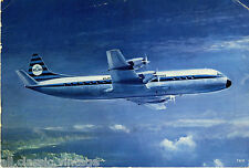 Postcard 1074 - Aircraft/Aviation KLM Lockheed Prop-Jet Electra II