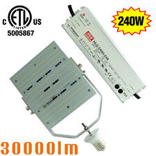 7PCS 1000W MHTennis Court LED Retrofit Kit 240W E39 Base Parking Lot Light 6000K