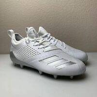 Adidas Adizero 5-Star 7.0 Low Football Lacrosse Cleats White Grey SZ 7.5 AC8226