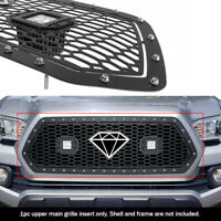 APS Compatible with 2007-2017 Jeep Wrangler Vertical Perimeter CNC Cut Grille nsert J96593V