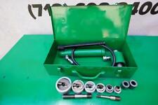 Greenlee Stainless Steel Knockout Hydraulic Punch And Die Set 7306 12 To 2 Inch