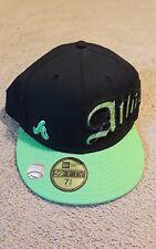 new Era MLB Atlanta Braves 59fifty 7 3/8 baseball hat cap