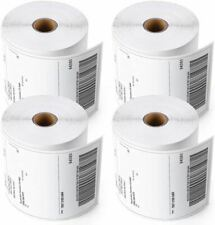 4 Rolls 4x6 Direct Thermal Shipping Labels - 250 per roll - 1000 labels