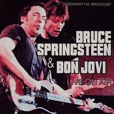 Live On Air, Bruce Springsteen & Jon Bon Jovi CD | 5583019090064 | New
