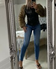 Miss Sixty Leather Jacket Size:S
