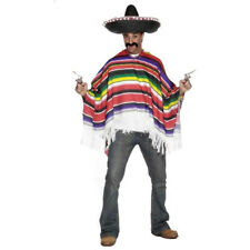 Smiffy's Men's The Wild West Mexican Poncho Adult Costume