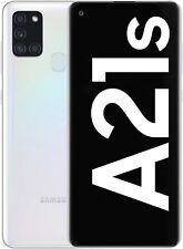 SMARTPHONE SAMSUNG A21S 128GB 3GB RAM WHITE BIANCO DISPLAY 6.5'' 48MPx NUOVO