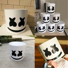 Cosplay Bar Party Music Props MarshMello DJ Full Head Helmet Tiesto Mask 22 cm