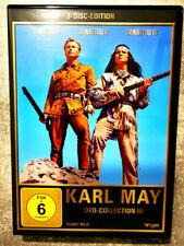 KARL MAY DVD-COLLECTION III (3DVD´s) Winnetou I, II und III komplett  TOP