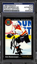1993 PINNACLE 439 ROB NIEDERMAYER RC PSA DNA AUTOGRAPH AUTO SIGN PANTHERS ROOKIE