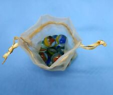 Glass Vintage Marbles Lot Antique Mixed Marble Art Old Colors Nice Gift Rare Toy