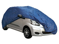 Water Sun Rain Ice & Snow Protection Breathable Full Car Cover to fit Smart Car