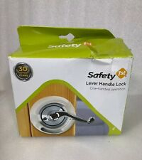 Child Safety Lock Safety First Lever Lock One- handed Operation