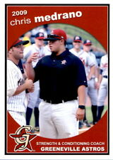 2009 Greeneville Astros Grandstand #25 Chris Medrano Baytown Texas TX Card