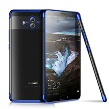 Huawei Mate 10 Funda Estuche Móvil Protector Carcasa Azul