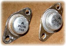 Transistor, Power, NPN, Silicon, TO-66 (Motorola #2N3766) (2/Lot) (Used)