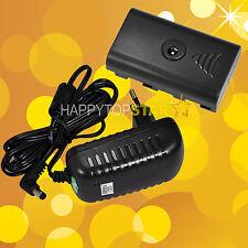 AC Adapter Power Video LED SONY F550 for Z96 Z12 W96 W12 AL-198 5080 5010A W160