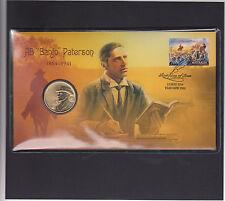Australia 2014 Perth Mint Bush Ballads Stamp and 1 $ coin cover