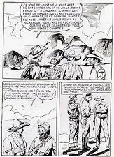 "MELLIES ""LE CIRQUE DU DIABLE"" PLANCHE ORIGINALE TEX BILL ARTIMA PAGE 13"