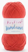 Hayfield Sundance Double Knit 100g - Complete Range 505 Perfectly Pomegranate