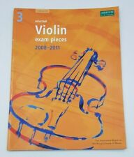 Selected Violin Exam Pieces 2008-2011, Grade 3, Score & Part by ABRSM