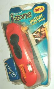 NOS 1998 Polaroid I-Zone Instant Pocket Mini Photo Camera Red / Black NIP