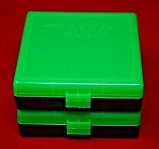 2 x 9mm/.380 Ammo Box / Case / Storage 100 Round Boxes each Zombie Color