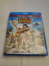 The Pirates! Band of Misfits (Two-Disc Blu-ray/DVD Combo) NEW