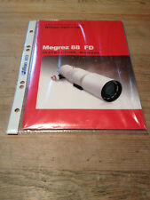 William Optics Manual für Megrez 88 FD