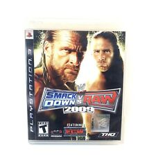 WWE Smackdown Vs. Raw 2009 (PlayStation 3, PS3)