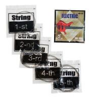 Electric BASS Guitar Set of 5 Strings Spock 40-125 B E A D G can be used for 4