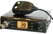 ATENA LAFAYETTE. Emisora CB 27 Mhz. AM/FM 4 Watios + antena magnetica MAAS KM-65