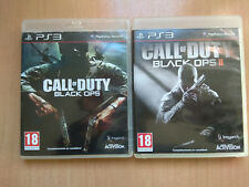 Call of duty black ops 1 y 2 ps3 playstation 3